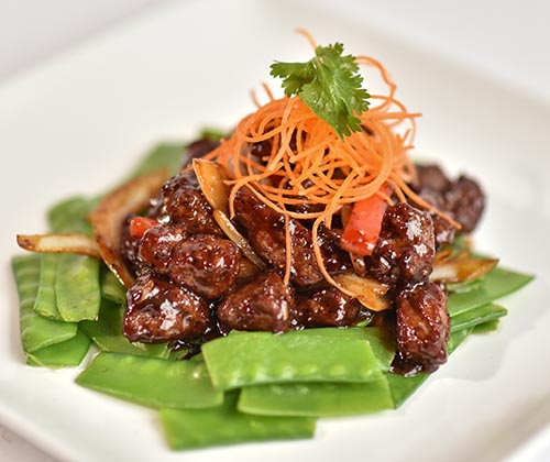 Black Pepper Steak Cubes
