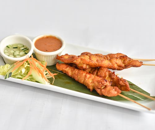 Chicken Satay (2pcs)