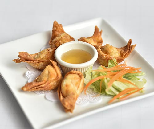 Crab Rangoon (6pcs)